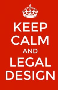 Keep calm and legal design
